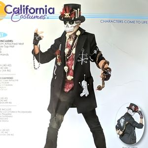 Voodoo Costume Men's